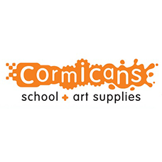 Cormicans School and Art Supplies logo