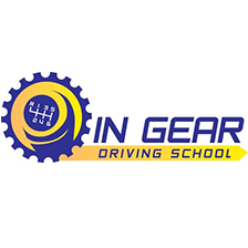 IN Gear Driving school logo