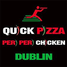 Quick Pizza and Peri Peri Chicken logo